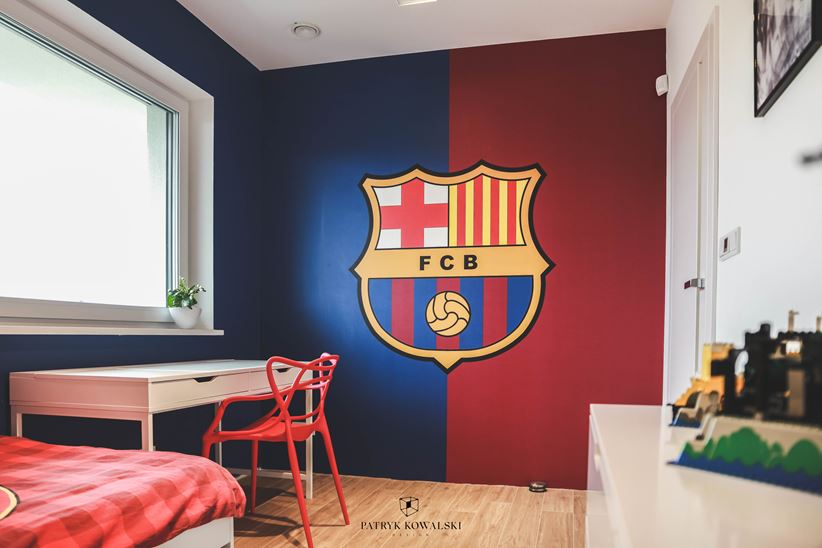 Pokój małego fana piłki nożnej