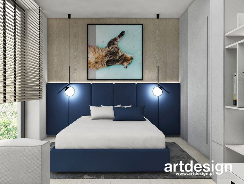 Sypialnia z granatem