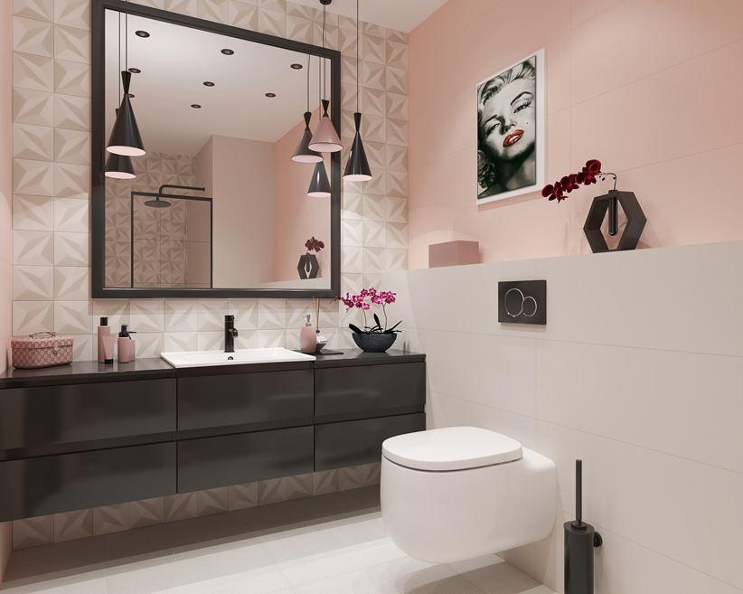 Aranżacja małej łazienki z romantycznymi akcentami