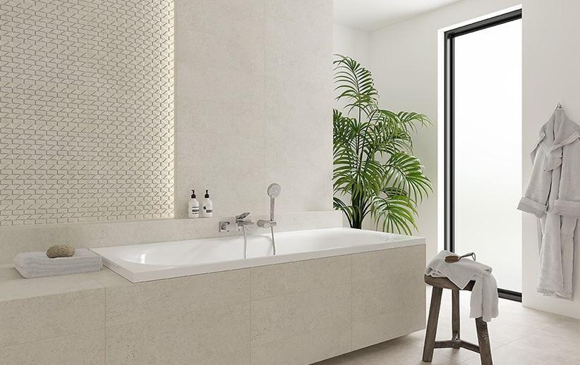 Nowoczesna łazienka w jasnej kolorystyce