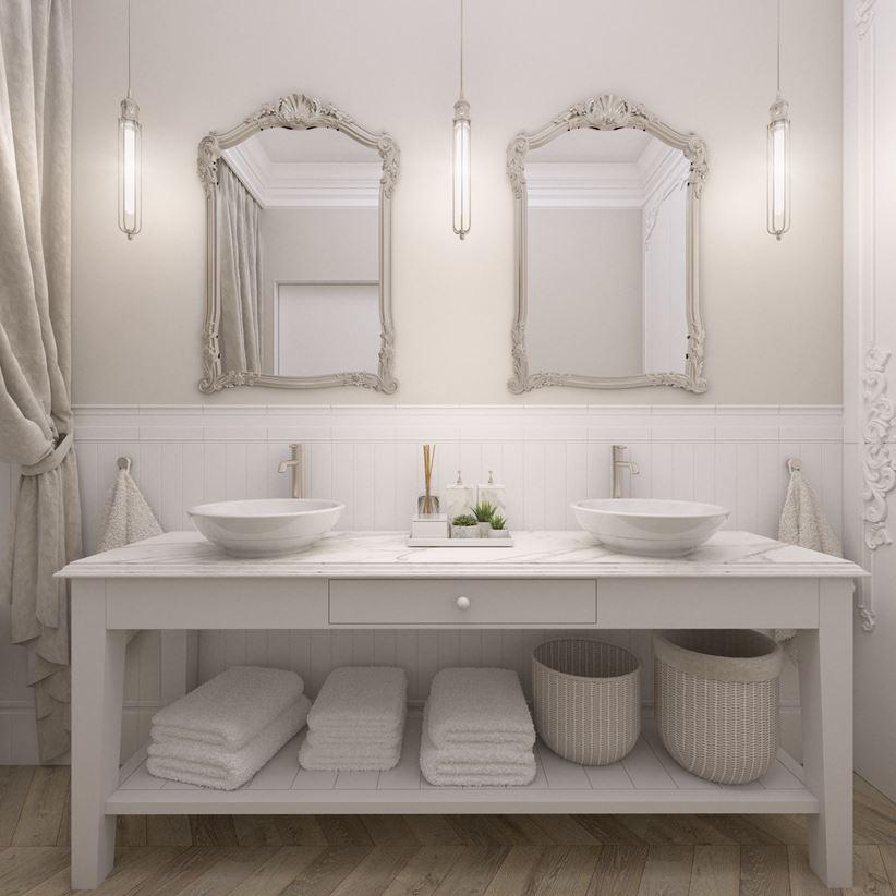 Łazinka dla dwojga w apartamencie