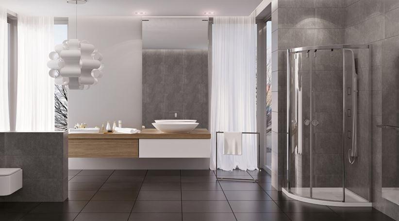 Aranżacja dużej łazienki New Trendy Porta
