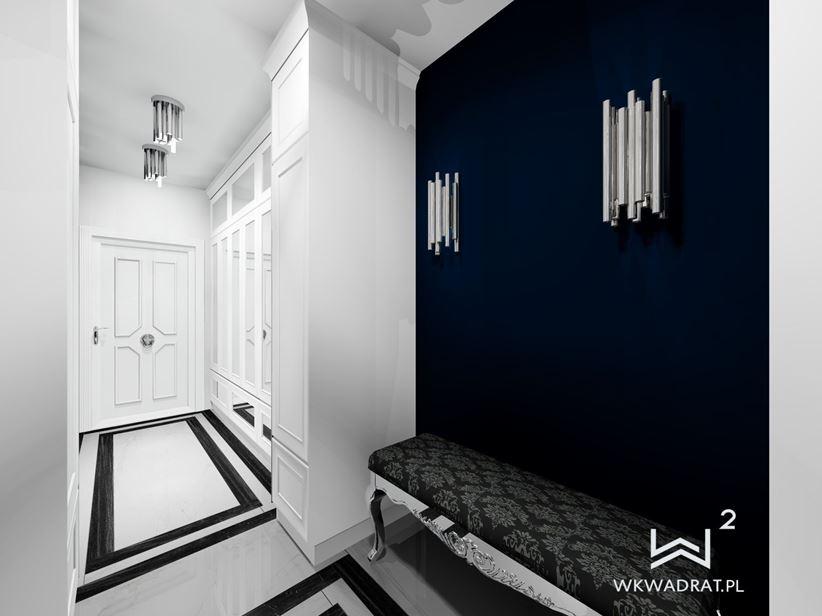 Hol apartamentu -pracownia Wkwadrat