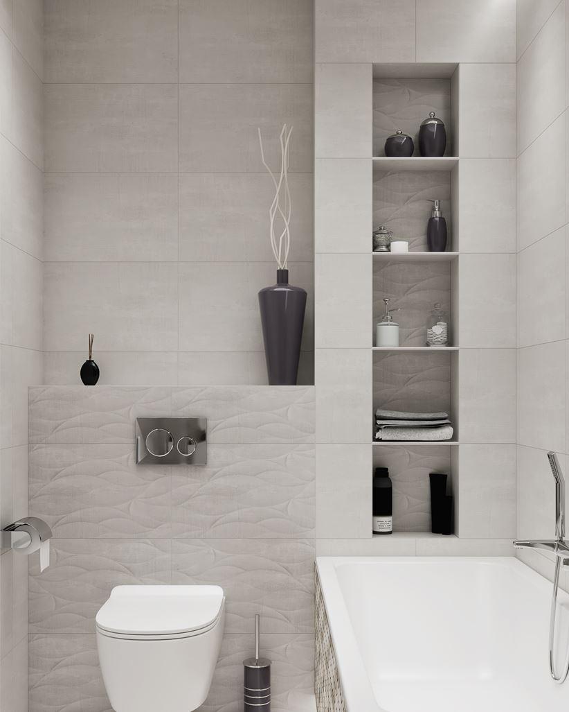 Stonowane Kolory W Aranżacji łazienki Domnipl