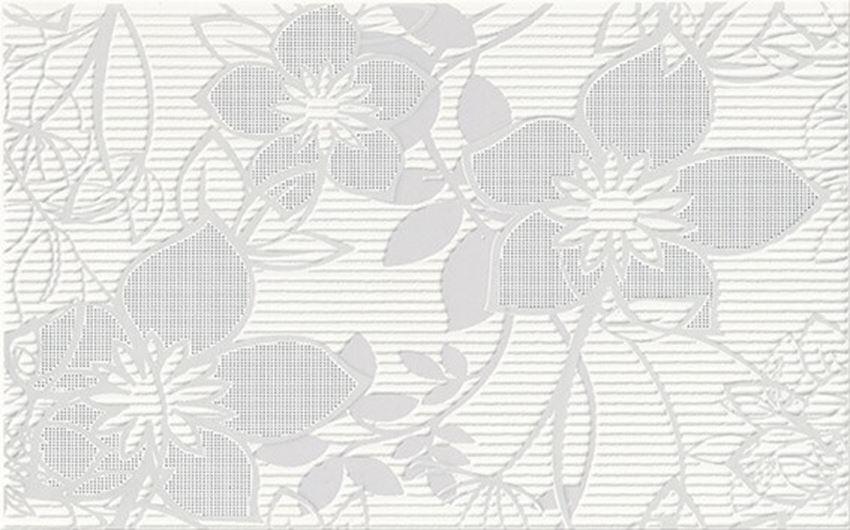 Płytka dekoracyjna 25x40 cm Cersanit Calvano grey inserto