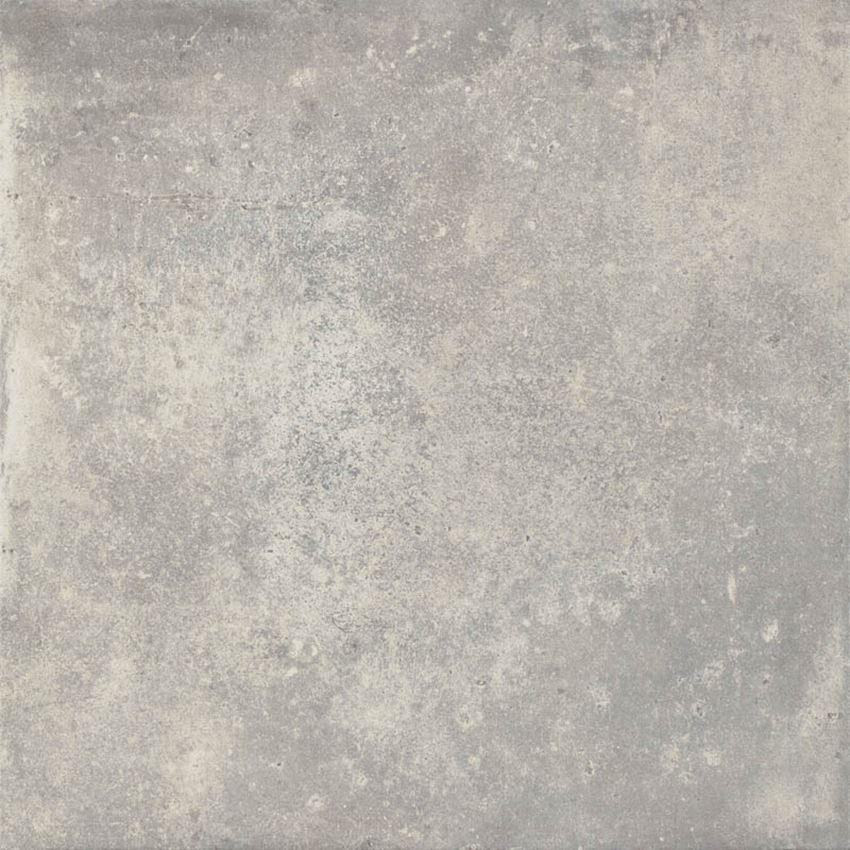 Płytka ścienno-podłogowa 75x75 cm Paradyż Trakt Grys Gres Szkl. Rekt. Mat.