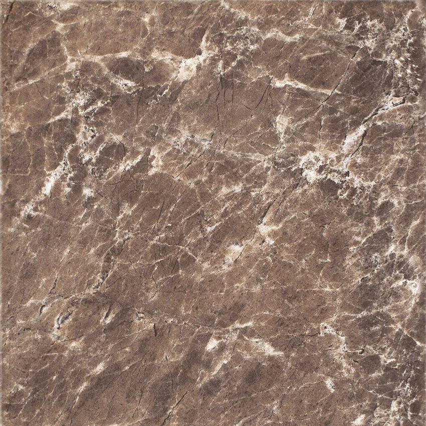 Płytka podłogowa 33,3x33,3 cm Cersanit Piedra Pp202 brown