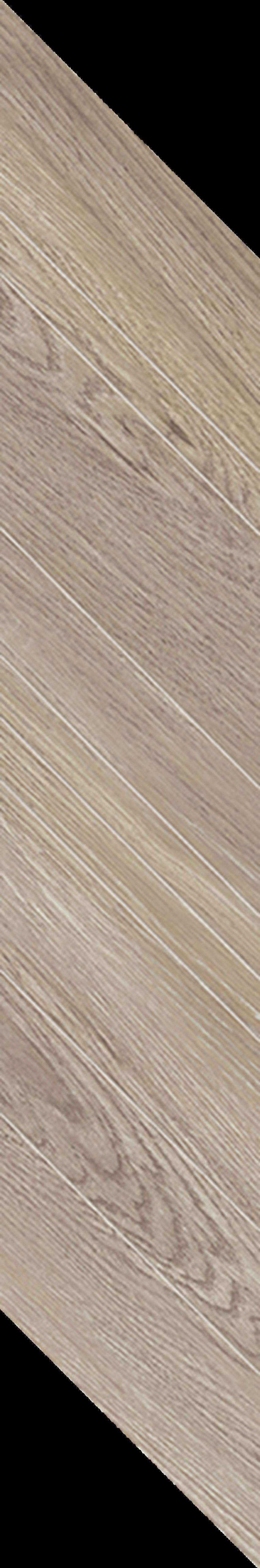 Płytka dekoracyjna 14,8x88,8 cm Paradyż Wildland Warm Dekor Chevron Lewy