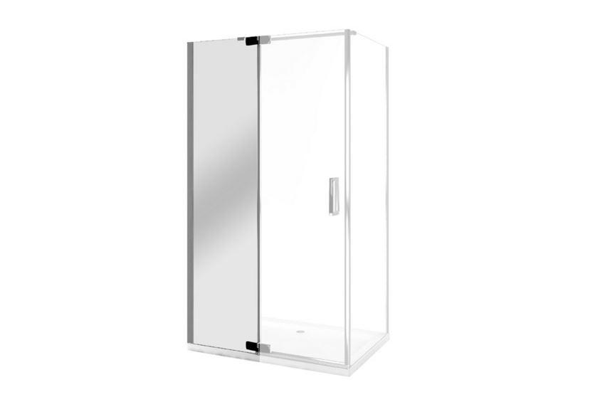Drzwi wnękowe uchylne lewe ze ścianką wenecką Excellent Colors
