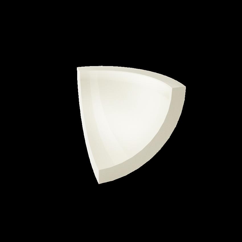 Płytka dekoracyjna 3x3 cm Paradyż Gamma Bianco Kształtka D Połysk