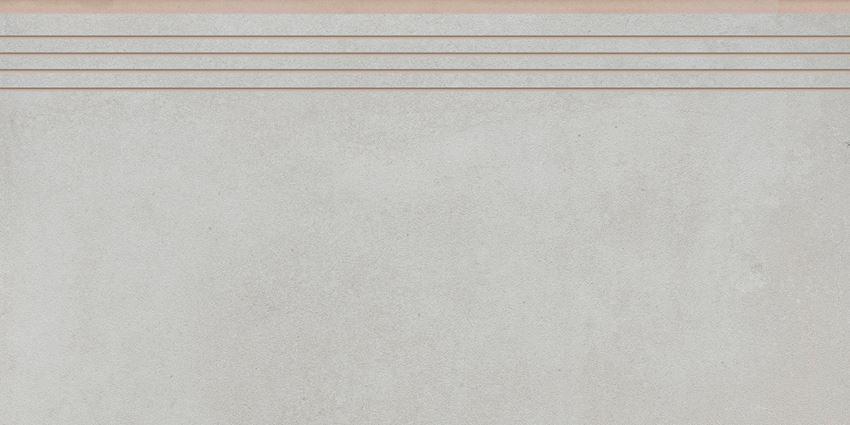 Płytka stopnicowa 29,7x59,7 cm Cerrad Tassero bianco