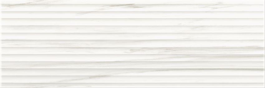 Płytka ścienna 25x75 cm Opoczno Artistic Way White Structure