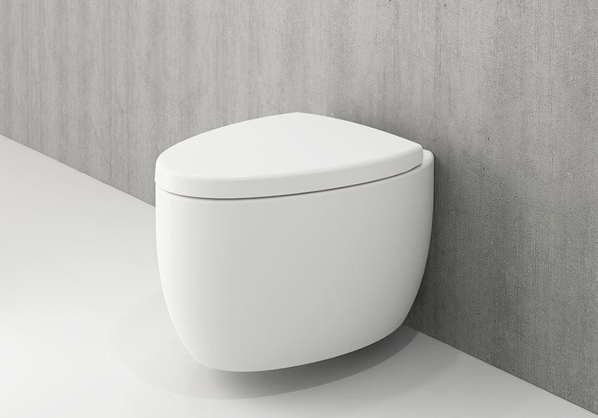 Miska WC wisząca bez deski Matt White Bocchi Etna