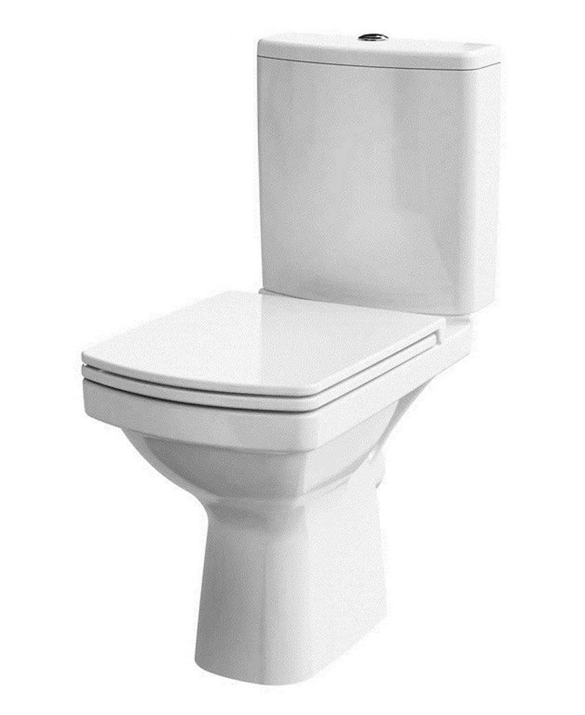 WC kompakt bez deski Cersanit Easy