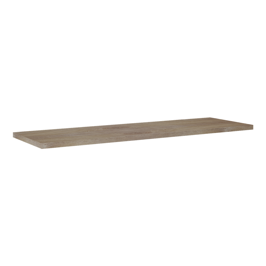 Blat naszafkowy pełny 140x42,5 cm Elita Barcelona GR28 Dąb Classic PCV