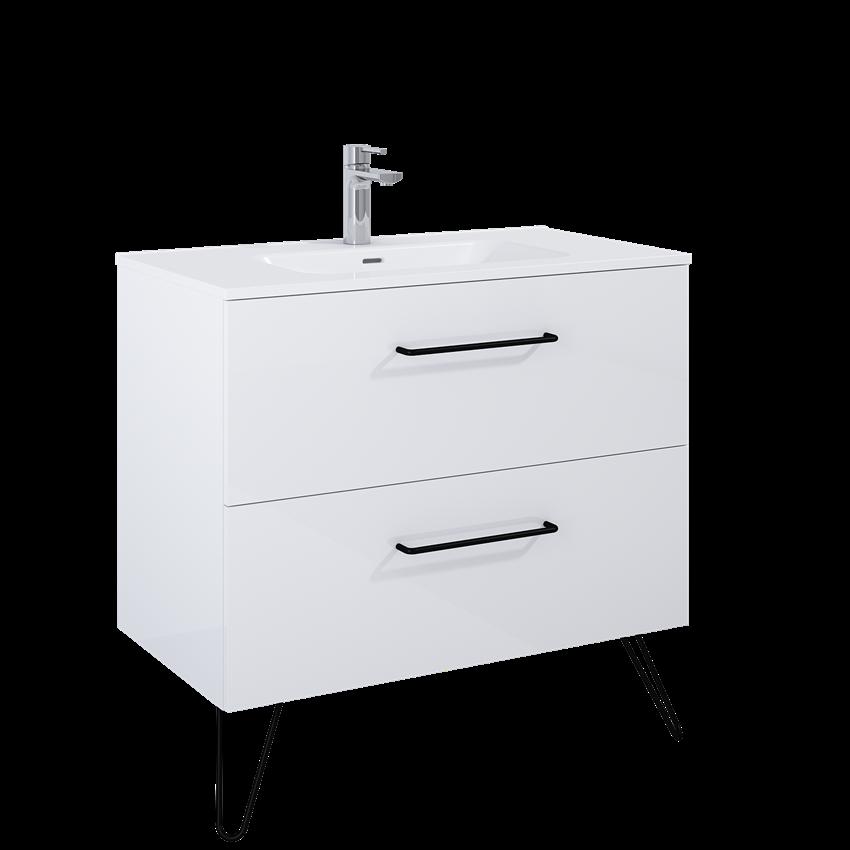 Szafka podumywalkowa 90 cm Elita Futuris 90 2S White