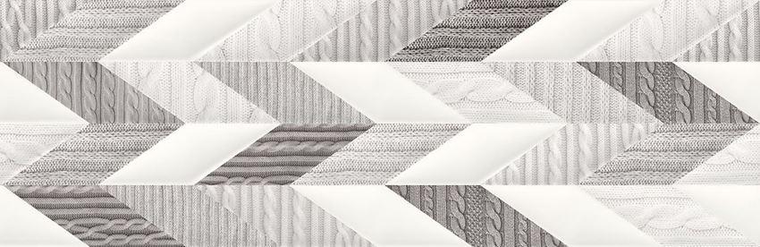 Płytka dekoracyjna 29x89 cm Opoczno French Braid Inserto Wool