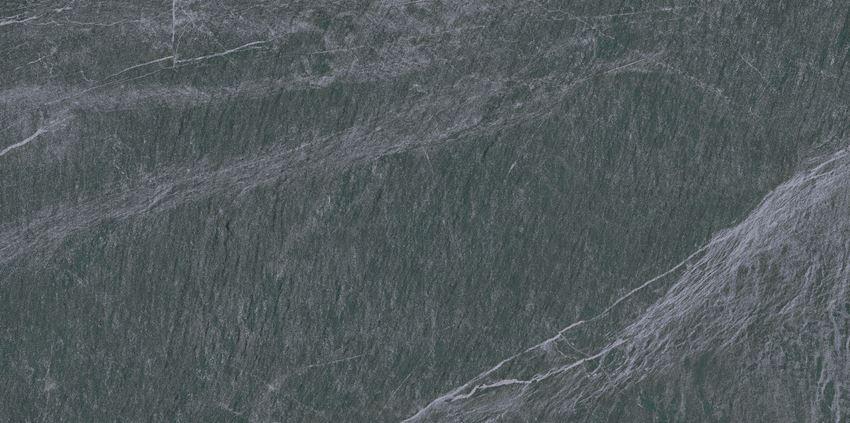Płytka ścienno-podłogowa 44,6x89,5 cm Opoczno Yakara Graphite Lappato