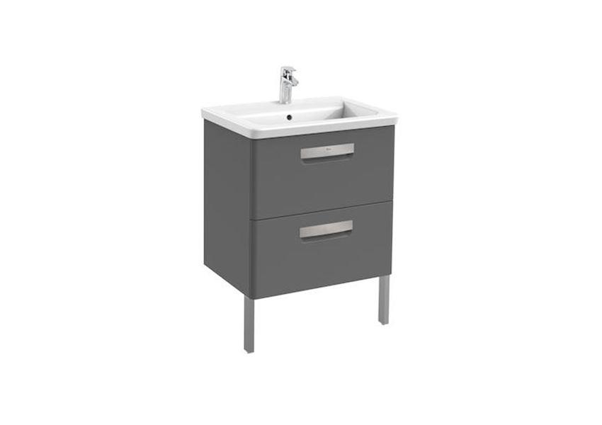 Zestaw łazienkowy Unik z 2 szufladami 60x44x64,5 cm Roca Gap