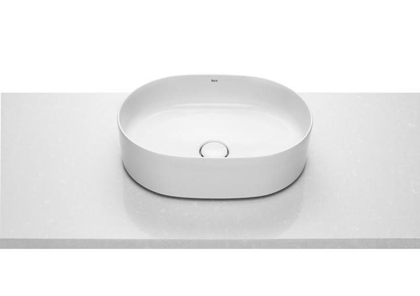 Umywalka nablatowa Round 50x37 cm Roca Inspira