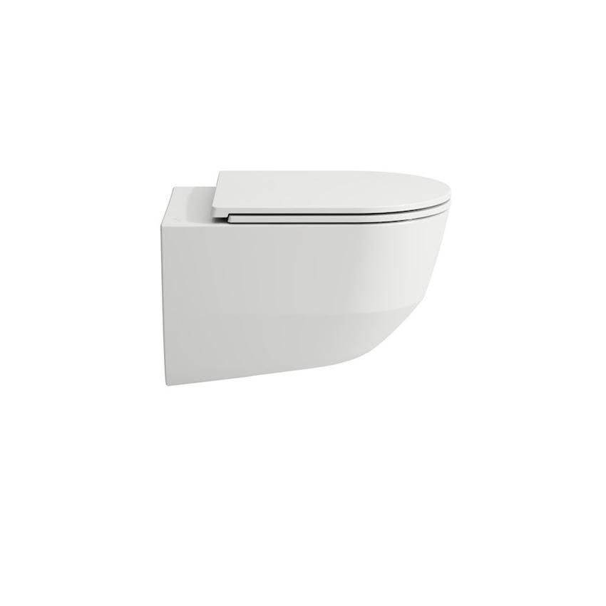 Miska WC podwieszana rimless lejowa bezkołnierzowa Laufen Pro