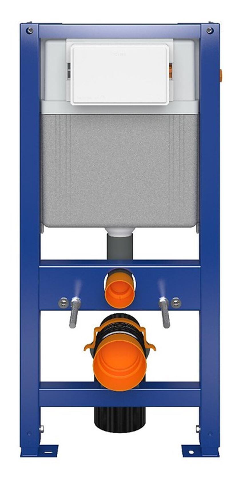 Stelaż podtynkowy do WC do zabudowy suchej Aqua Seria 4 Cersanit