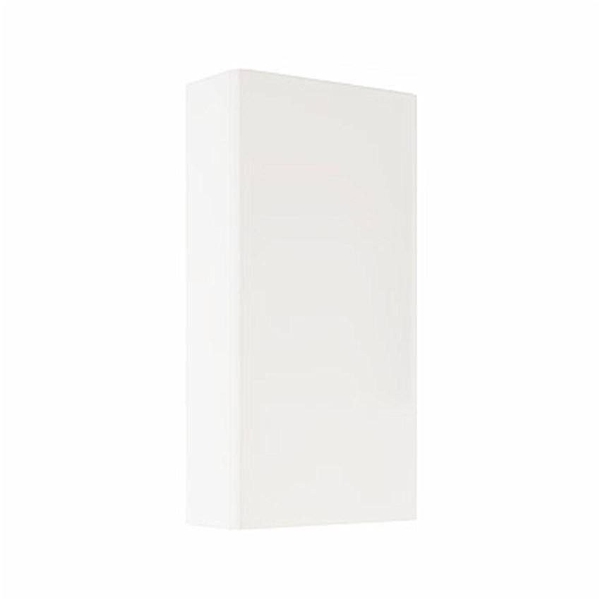Szafka wisząca stelażowa 45,4x86x18,5 cm biały połysk Koło Nova Pro