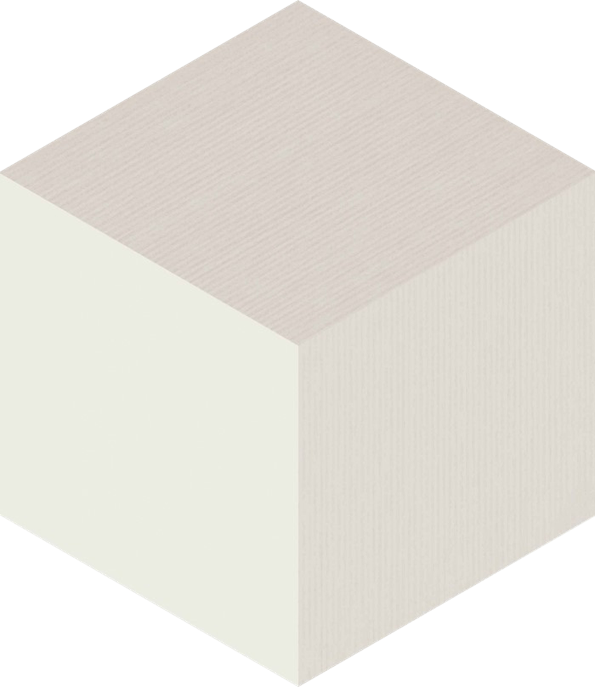 Płytka ścienna Paradyż Esagon Cube Crema Ściana