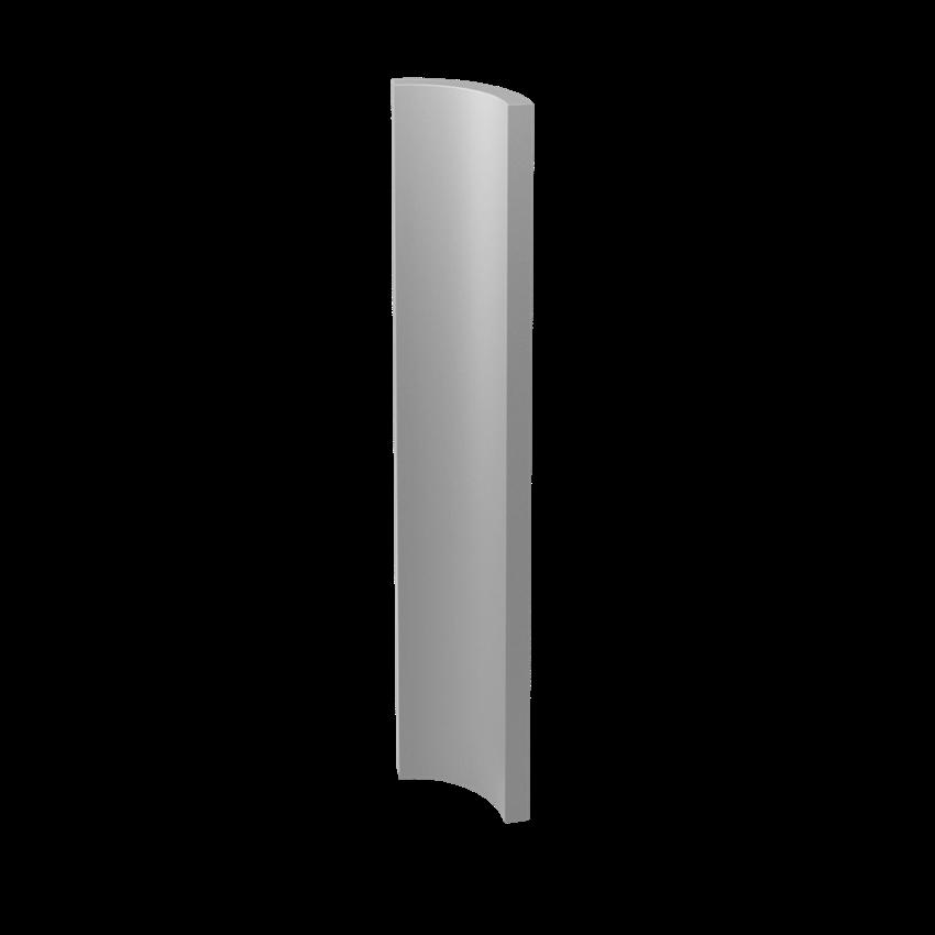 Płytka dekoracyjna 3x19,8 cm Paradyż Gamma Szara Kształtka A Mat