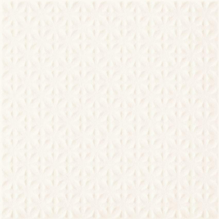 Płytka uniwersalna 19,8x19,8 cm  Paradyż Gammo Biały Gres Szkl. Struktura