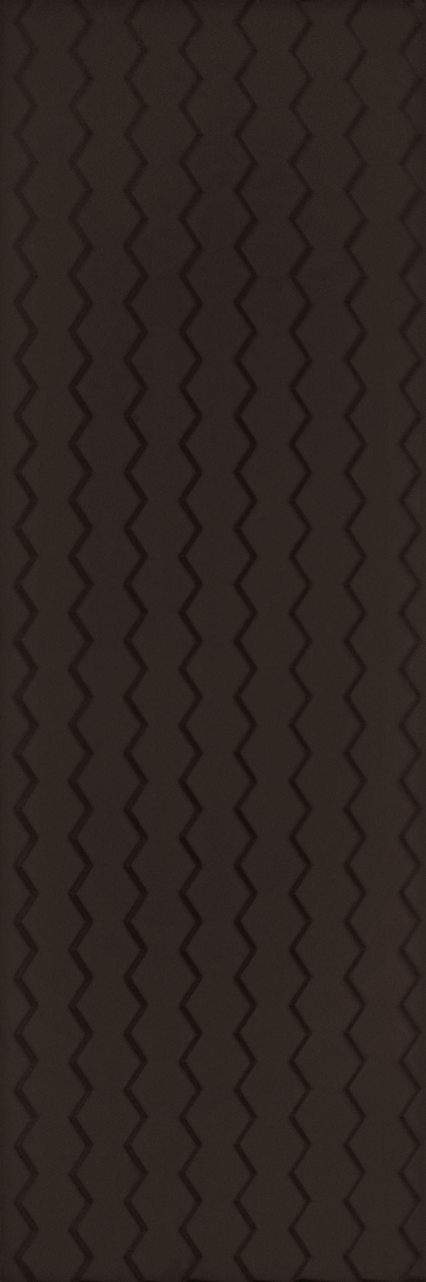 Płytka ścienna 32,5x97,7 cm  Paradyż Margarita Nero struktura B