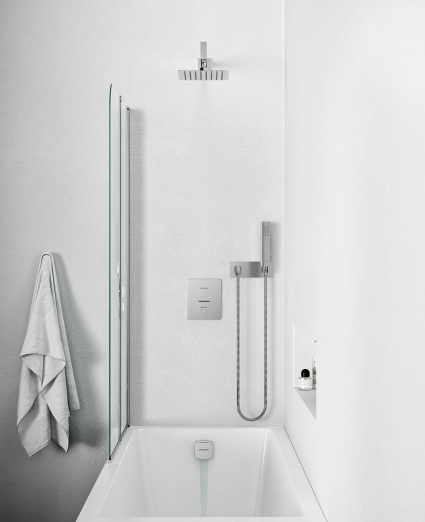 Zestaw prysznicowo-wannowy podtynkowy Frost Quatro