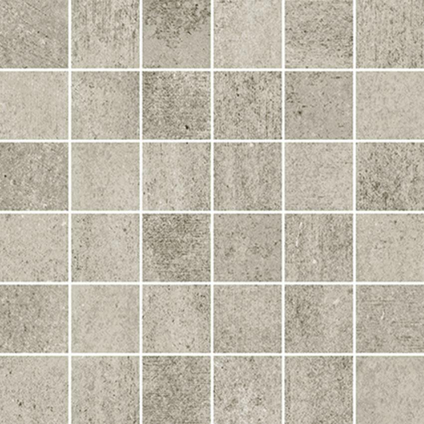Mozaika 29,8x29,8 cm Opoczno Grava Light Grey Mosaic Matt