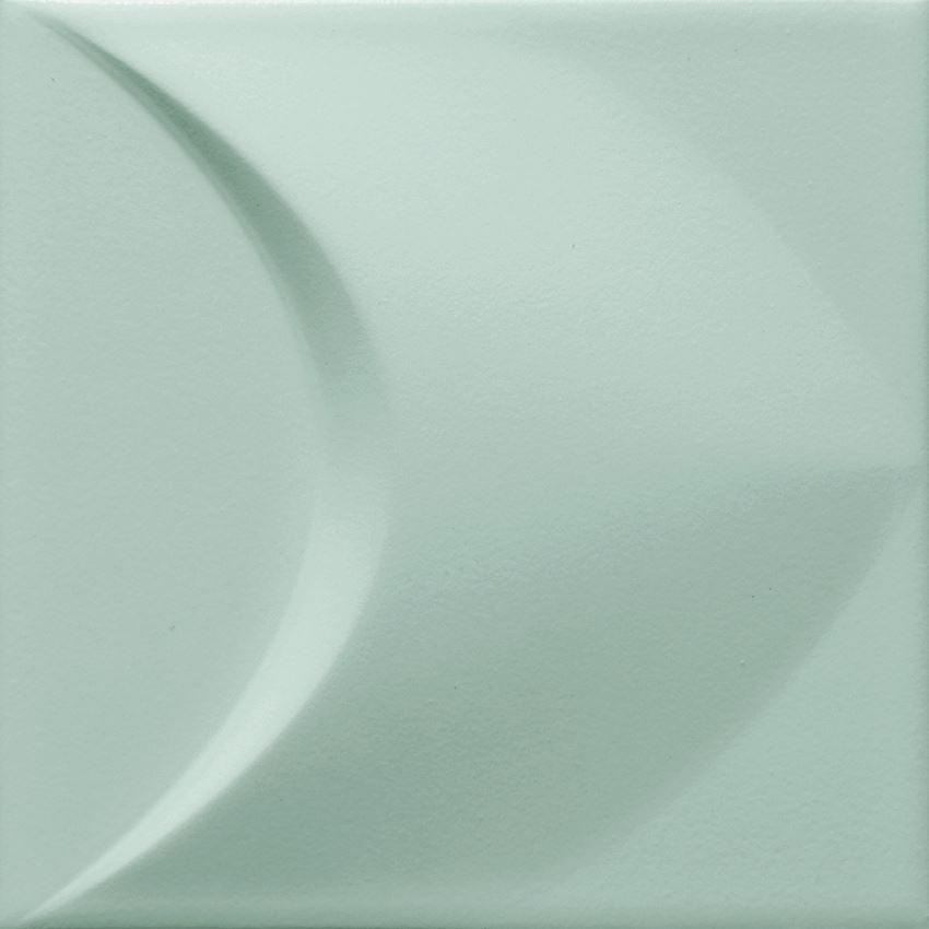 Płytka ścienna 14,8x14,8 cm Tubądzin Colour Mint STR 2