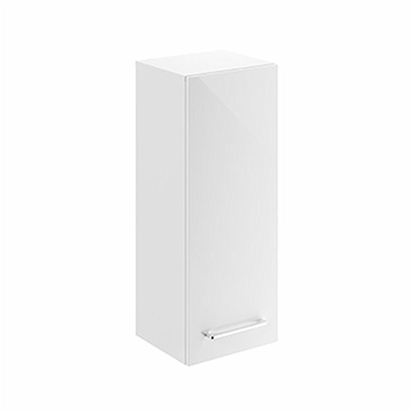 Szafka wisząca boczna biały połysk 33x85x29,7 cm Koło Nova Pro Premium