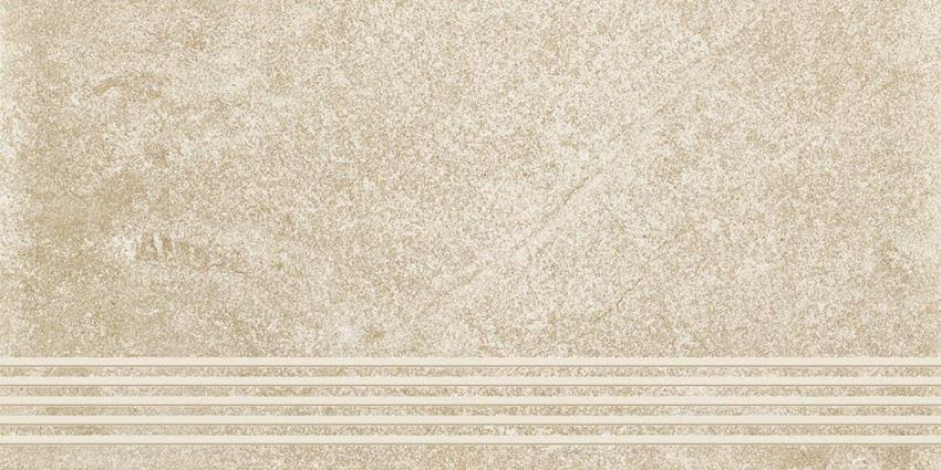 Paradyż Flash Bianco stopnica półpoler