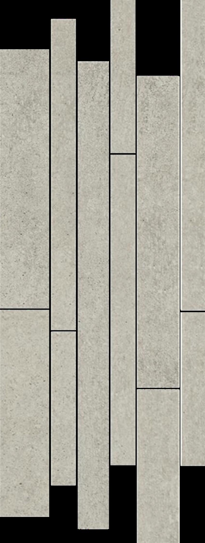Listwa 20x52 cm Paradyż Rino Grys Listwa Mix Paski