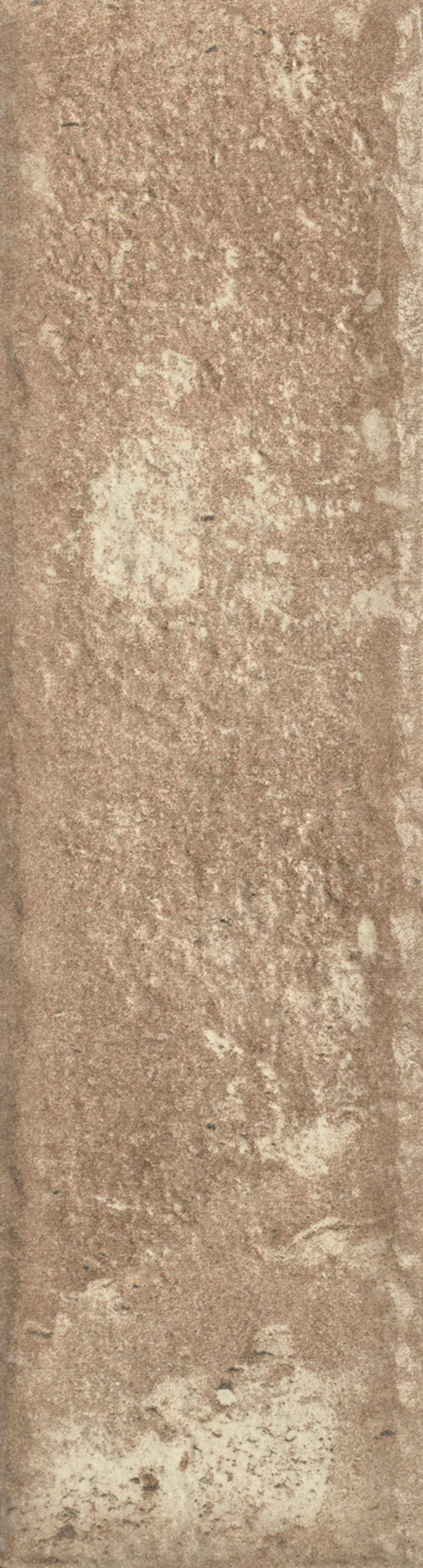 Płytka elewacyjna 6,6x24,5 cm Paradyż Scandiano Ochra Elewacja