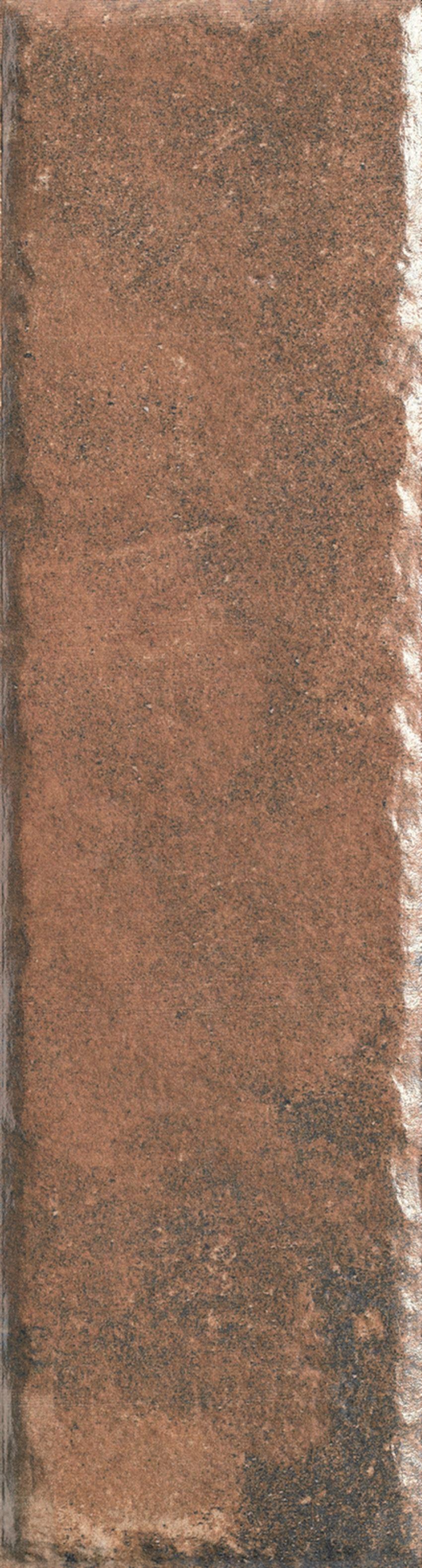 Płytka elewacyjna 6,6x24,5 cm Paradyż Scandiano Rosso Elewacja