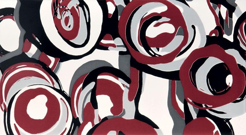 Dekor ścienny Tubądzin Colour Hoop Carmine