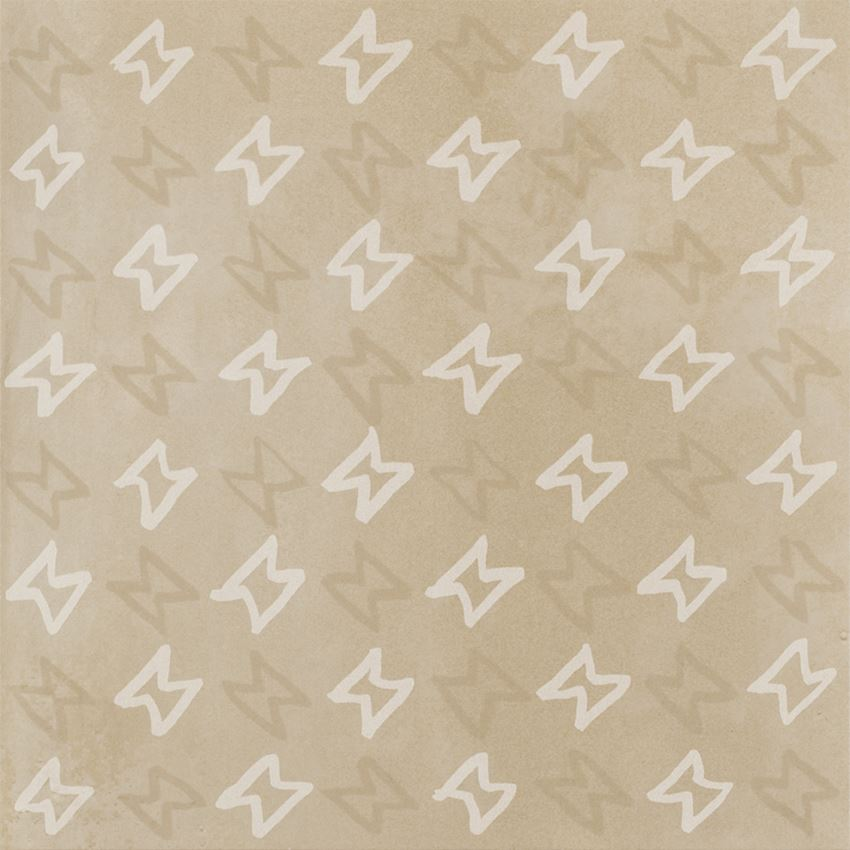 Płytka dekoracyjna 29,8x29,8 cm Paradyż Tigua Beige Inserto D Mat