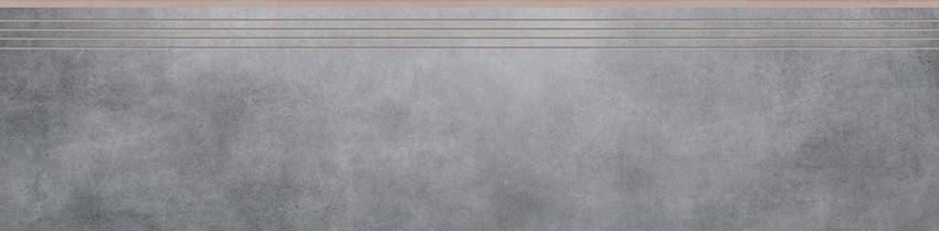 Płytka stopnicowa 29,7x119,7 cm Cerrad Batista steel lappato