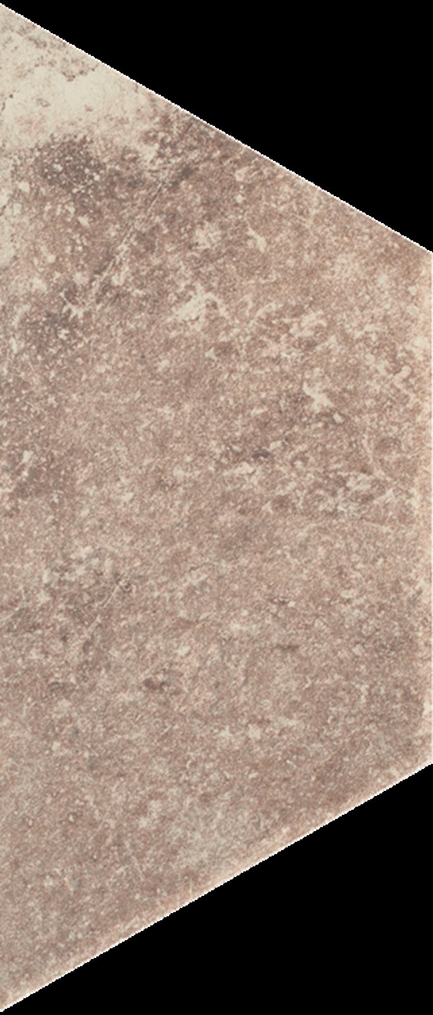 Dekoracja podłogowa 12,6x29,6 cm Paradyż Scandiano Ochra Trapez