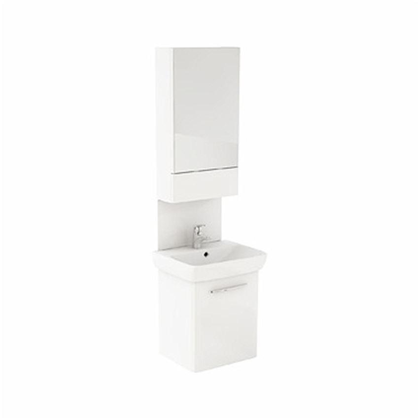 Kolumna umywalkowa biały połysk Koło Nova Pro