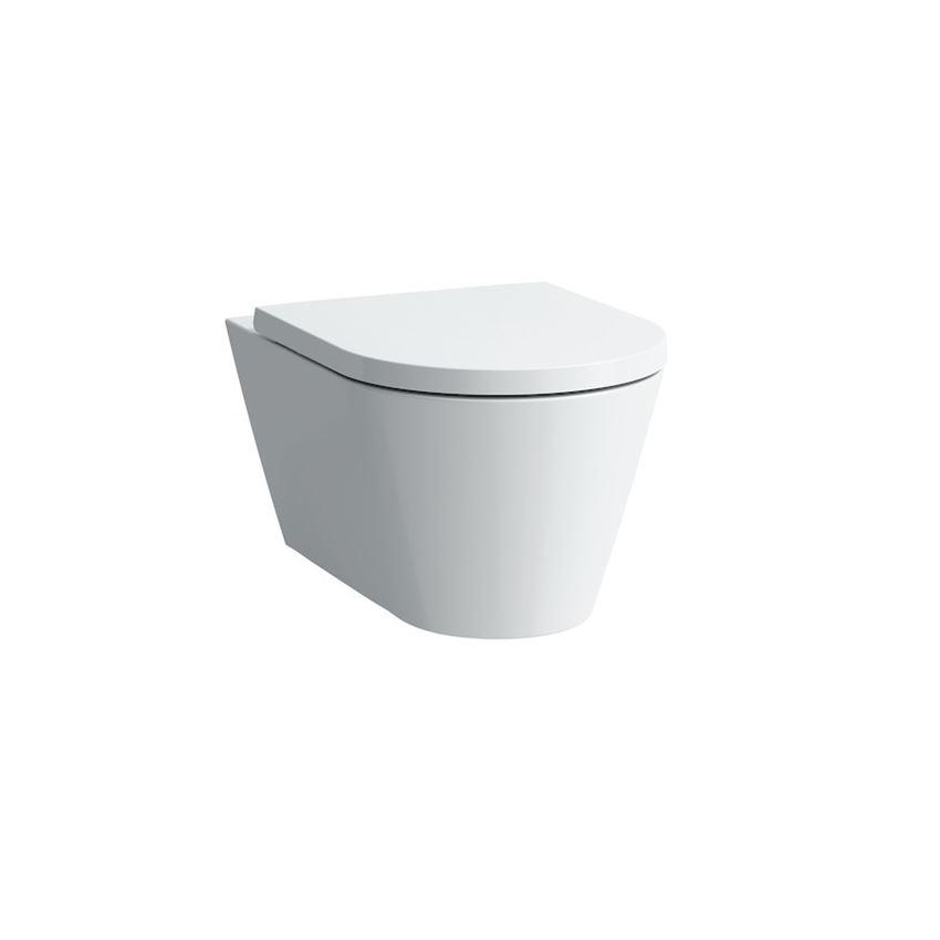 Miska WC podwieszana rimless bezkołnierzowa bez deski Laufen Kartell