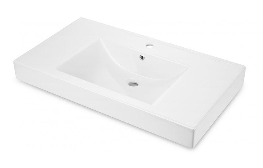 Umywalka stawiana na blacie 90x50 cm Deante Anemon
