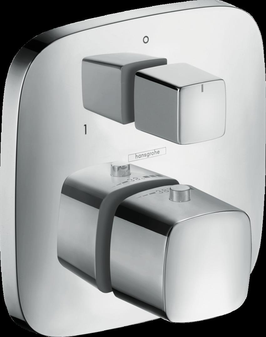 Bateria termostatyczna element zewnętrzny chrom Hansgrohe PuraVida