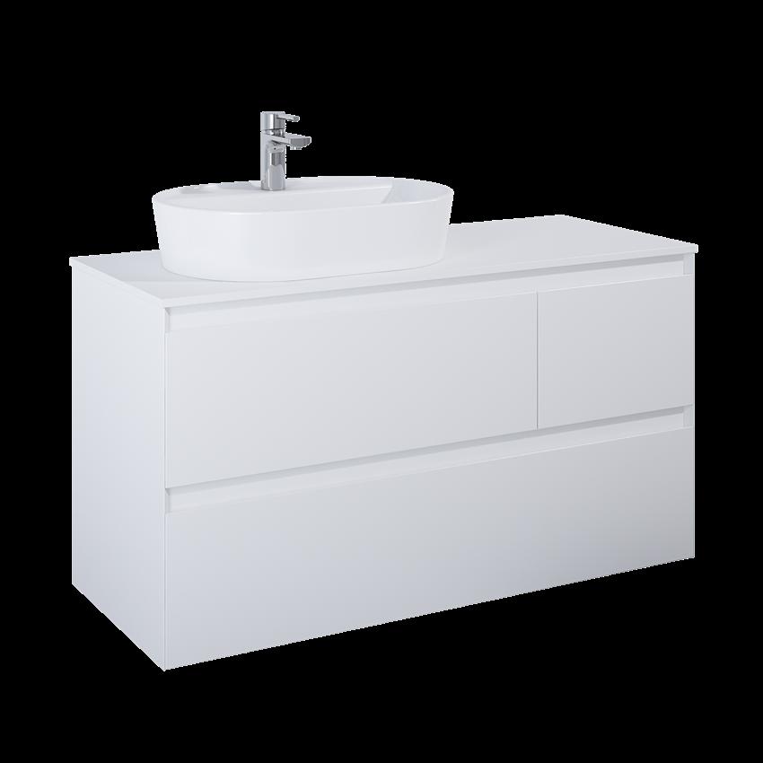 Szafka podumywalkowa 120 cm Elita Split 3S L White Matt