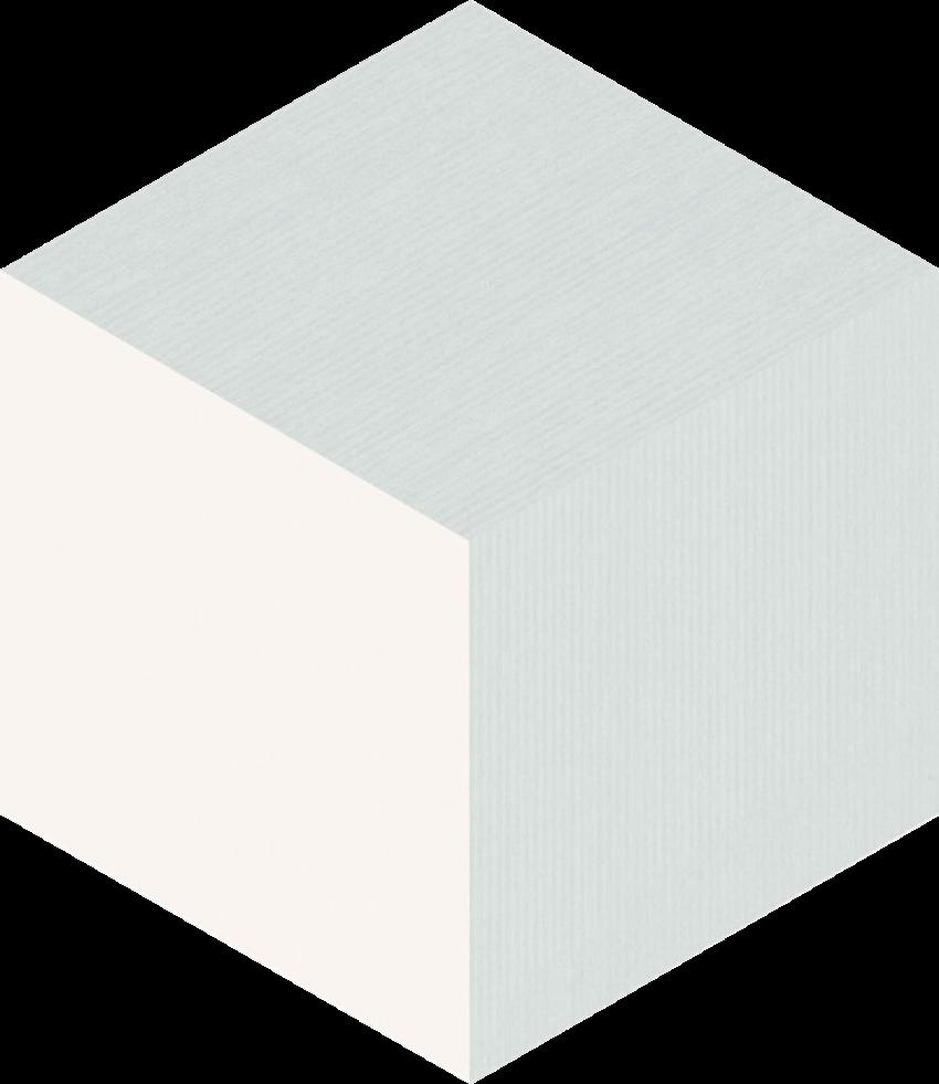 Płytka ścienna Paradyż Esagon Cube Grey Ściana