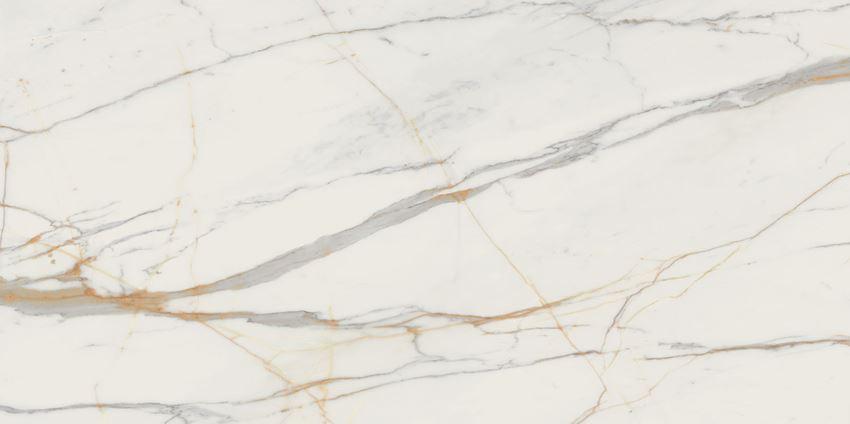Płytka ścienno-podłogowa 239,8x119,8 cm Tubądzin Marmo D'oro MAT